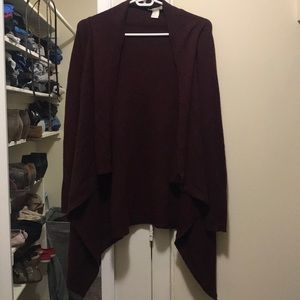 LIKE NEW | H&M | Burgundy Cardigan